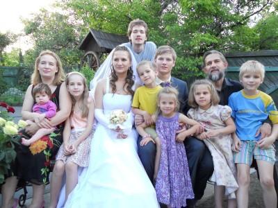 Семья отца Дмитрия Черкашина