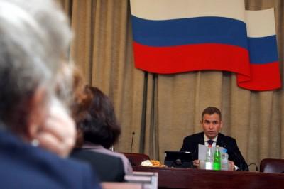 Павел Астахов на заседании Экспертного совета