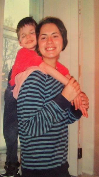 Маруся и Андрей в детстве